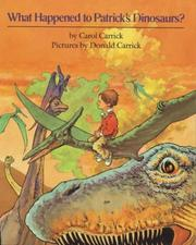 Cover of: What happened to Patrick's dinosaurs?