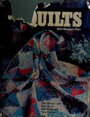 Cover of: Award winning quilts