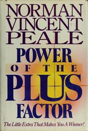 Cover of: Power of the plus factor | Norman Vincent Peale