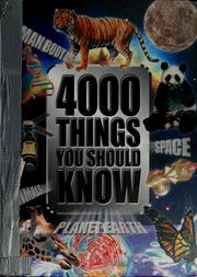 Cover of: 4000 things you should know | John Farndon