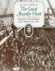 Cover of: The great ancestor hunt | Lila Perl