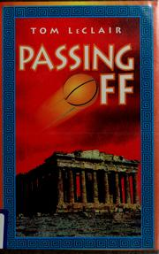 Cover of: Passing off