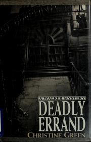 Cover of: Deadly errand