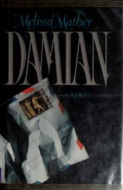 Cover of: Damian | Melissa Mather