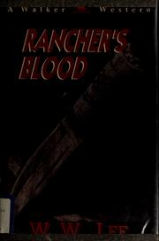 Cover of: Rancher's blood