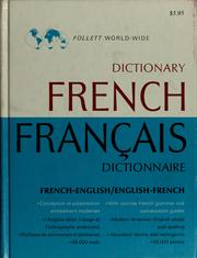 Cover of: Follett world-wide French dictionary | Richard Switzer