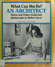 Cover of: What can she be? An architect