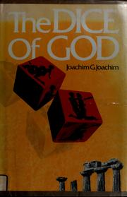 Cover of: The dice of God