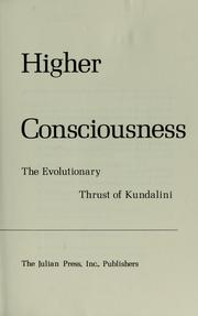 Cover of: Higher consciousness