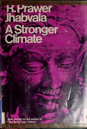 Cover of: A stronger climate