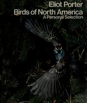 Birds of North America by Porter, Eliot
