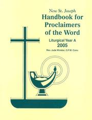 Cover of: St. Joseph Handbook for Proclaimers for 2008