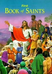 Cover of: St. Joseph First Book of Saints | L. Lovasik