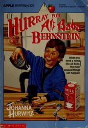 Cover of: Hurray for Ali Baba Bernstein | Johanna Hurwitz