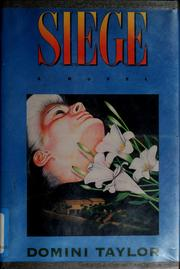 Cover of: Siege | Domini Taylor