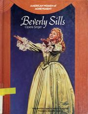 Cover of: Beverly Sills | Bridget Paolucci