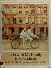 Cover of: I go with my family to Grandma