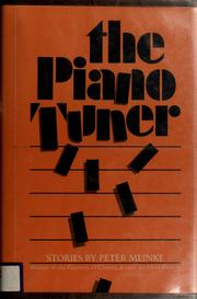 Cover of: The piano tuner: stories