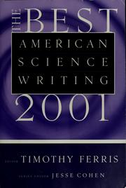Cover of: The best American science writing 2001