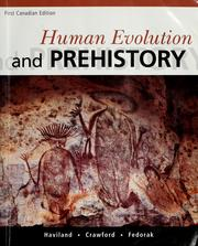 Cover of: Human evolution and prehistory | William A. Haviland