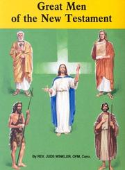 Cover of: Great Men of the New Testament