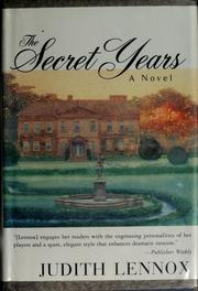 Cover of: The secret years