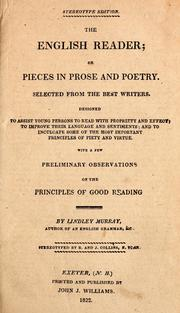 Cover of: The English reader