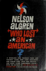 Cover of: Who lost an American?
