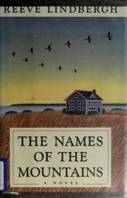 Cover of: The names of the mountains