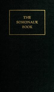 Cover of: History of the Somonauk United Presbyterian church near Sandwich, De Kalb County, Illinois | Jennie M. Patten