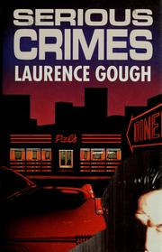 Cover of: Serious crimes
