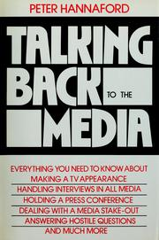 Cover of: Talking back to the media