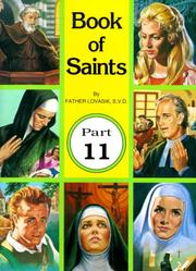 Cover of: Book of Saints
