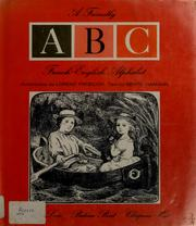 Cover of: A friendly ABC French-English alphabet