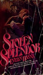 Cover of: Stolen Splendor | Evelyn Hanna