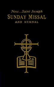Cover of: The New Saint Joseph Sunday Missal & Hymnal/Black/No. 820/22-B | Catholic Book Publishing Co