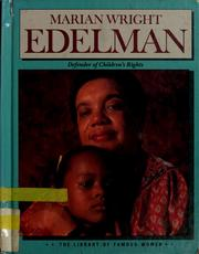 Cover of: Marian Wright Edelman: defender of children's rights