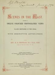 Cover of: Scenes in the East
