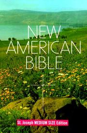 Cover of: Saint Joseph Edition of the New American Bible |