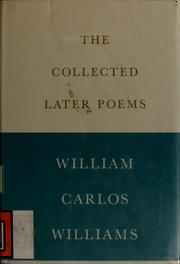Cover of: The collected later poems