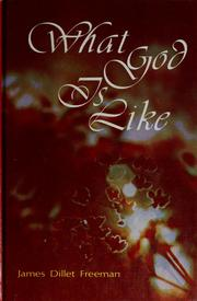 Cover of: What God is like