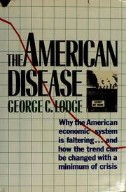 Cover of: The American disease