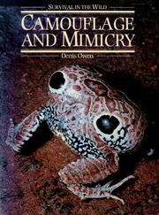 Cover of: Camouflage and mimicry | Owen, Denis Frank