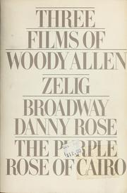 Cover of: Three Films by Woody Allen | Woody Allen