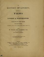 Cover of: The history of London | W. G. Fearnside