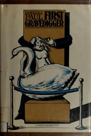 Cover of: First gravedigger
