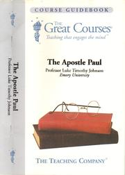 Cover of: The Apostle Paul [sound recording]