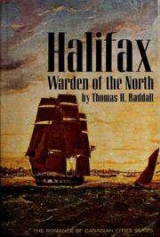 Cover of: Halifax, warden of the North