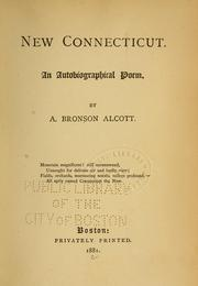 Cover of: New Connecticut