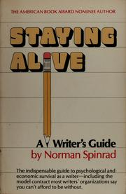 Cover of: Staying alive: a writer's guide